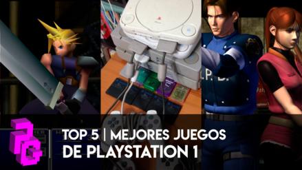 Top 5 mejores juegos de la primera PlayStation