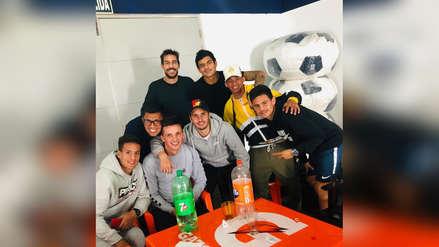 Alianza Lima organizó un almuerzo de despedida a Mauricio Affonso