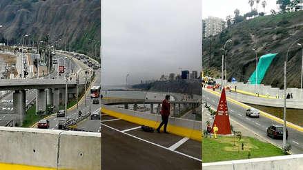 FOTOS   Así es el nuevo viaducto Armendáriz que conectará directamente Miraflores y Barranco