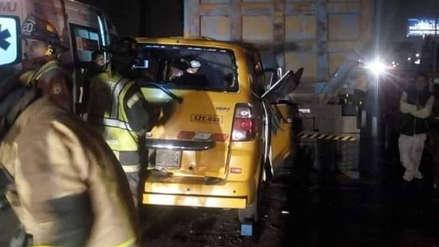 Cinco personas murieron en un accidente de tránsito en la Panamericana Sur