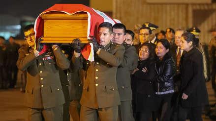 Familia de militar muerto en Vraem: