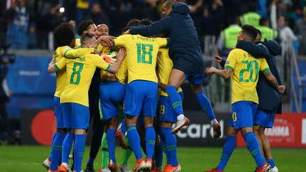 Brasil sufrió para clasificar a la semifinal de la Copa América 2019