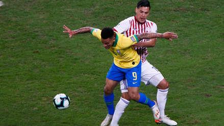 Árbitro del partido entre Brasil y Paraguay le advirtió a Gabriel Jesus que no finja faltas