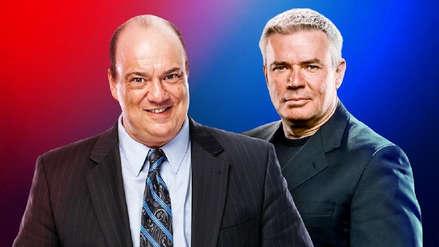 WWE nombra a Paul Heyman y Eric Bischoff como los directores ejecutivos de RAW y SmackDown