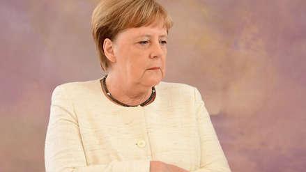 Preocupación por la salud de Angela Merkel: Nuevamente sufrió temblores en acto oficial
