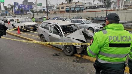 Diez muertos en racha de accidentes de tránsito en distritos de Lima