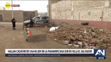 El cadáver de una mujer fue encontrado en un pasaje inhóspito de Villa El Salvador