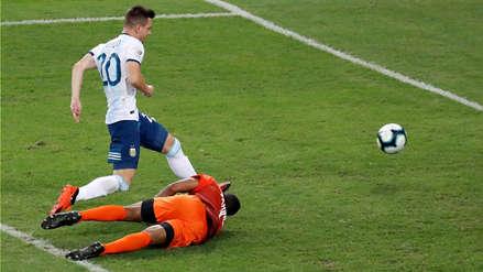 El tremendo error de Wuilker Fariñez que terminó en el segundo gol de Argentina ante Venezuela