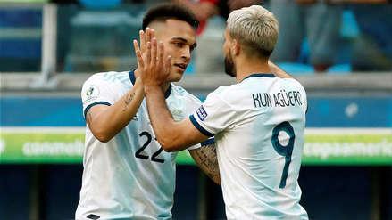 ¡Sólo debía patear! Lautaro Martínez se falló un increíble gol en el partido de Argentina ante Venezuela
