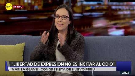 Marisa Glave espera que la fiscal de la Nación solicite el levantamiento de inmunidad de Héctor Becerril