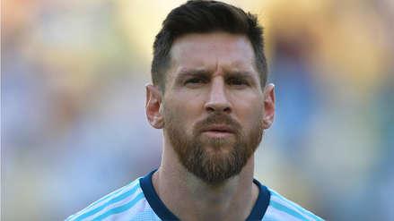 Un cambio significativo: Lionel Messi cantó el himno argentino previo al partido con Venezuela