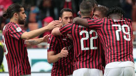 Milan fue oficialmente excluido de la Europa League tras fallo del TAS