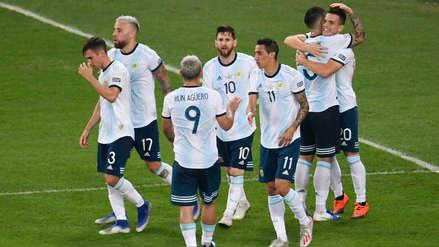 Argentina se impuso 2-0 a Venezuela en los cuartos de final de la Copa América 2019