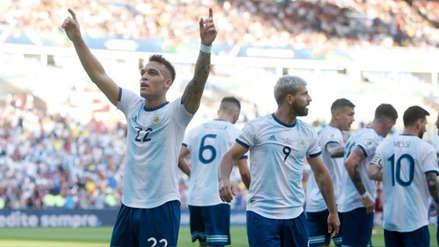 Argentina vs. Venezuela: los números del nuevo goleador de la 'Albiceleste', Lautaro Martínez