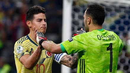 James Rodríguez y su lamento tras quedar eliminado: