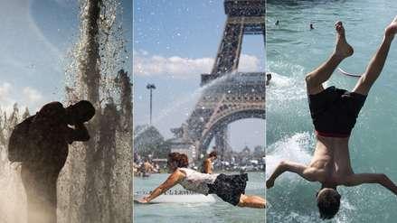 Muertos y temperaturas récord: 15 fotos de cómo Europa es golpeada por una insólita ola de calor