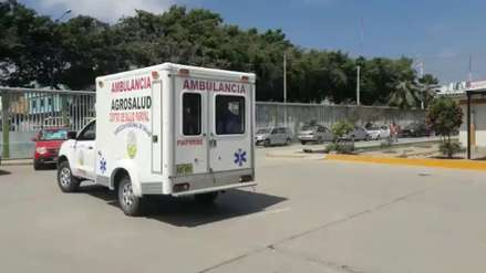 Paciente murió luego de trabarse las puertas de una ambulancia en Tumbes