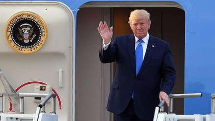 Donald Trump llegó a Seúl ante un posible encuentro con Kim Jong-un en la frontera