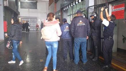 Municipalidad de Surco clausuró tienda de masajes que ofrecía servicio sexual