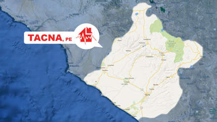Un sismo de magnitud 4.3 se registro esta tarde Tacna