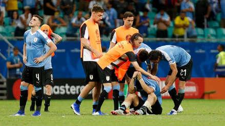 El desconsolado llanto de Luis Suárez, luego de que Pedro Gallese le atajó el penal