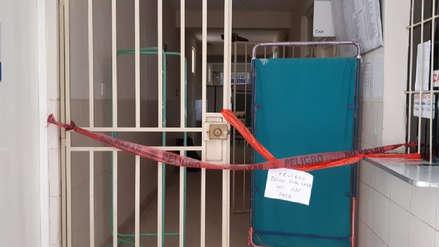 Techo colapsa en hospital de El Porvenir
