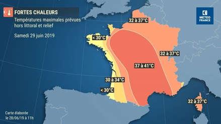 Francia soportó el día más caluroso de la historia de Europa: 45,8 grados