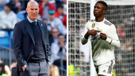 Vinicius Junior y el consejo que recibió de Zinedine Zidane: