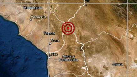 Un sismo de magnitud 4.1 sacudió El Collao esta noche