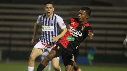 Alianza Lima se salvó de la derrota y empató 1-1 con Melgar gracias a un gol en el último minuto