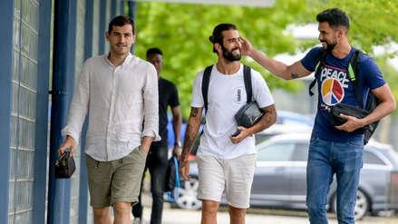 Iker Casillas volvió a los entrenamientos del Porto dos meses después de su infarto