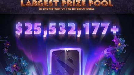 Dota 2 | The International rompe nuevamente un récord en la historia de los esports con un pozo de $25.5 millones