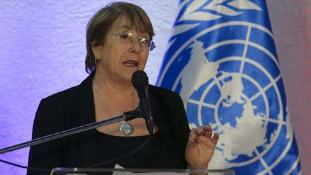 Bachelet exigió una investigación