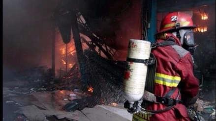 Villa María del Triunfo: Hombre muere calcinado tras incendio de su vivienda