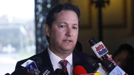 Salaverry anunció que jefe de Asesoría Jurídica del Congreso será removido de su cargo tras denuncia
