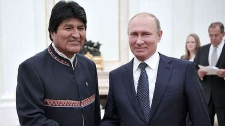 Evo Morales tiene previsto reunirse con Vladímir Putin el próximo 11 de julio en Moscú