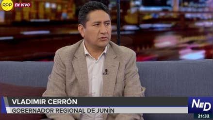 Vladimir Cerrón dice que el índice de pobreza en Venezuela es