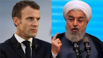 Presidente de Francia llamó a Irán a reducir