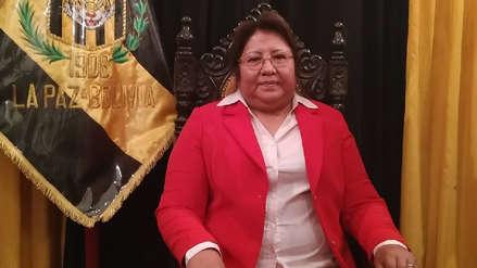 Inés Quispe, la primera mujer que presidirá un equipo de fútbol en Bolivia