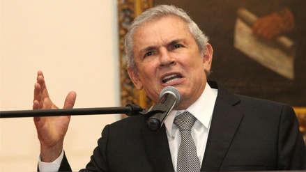 Poder Judicial evaluará este jueves pedido de impedimento de salida del país contra Luis Castañeda