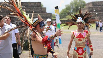 Rumbo a Perú: las mejores imágenes del encendido de la llama panamericana en Teotihuacán | FOTOS