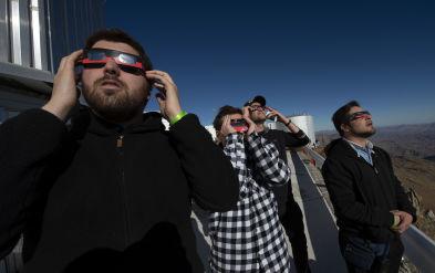 Así se vio el eclipse solar desde el sur del Perú