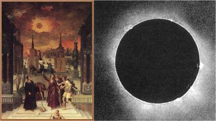 Eclipse solar: cómo pasamos a captarlo desde las pinturas a las fotos
