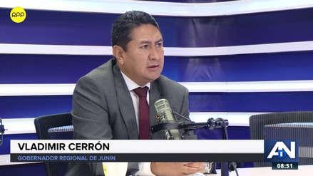 """Vladimir Cerrón sobre viaje a Venezuela: """"He visto mercados llenos, el 70 % en Caracas es chavista"""""""