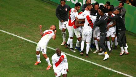 Así fue el festejo peruano a ras de cancha tras clasificar a la final de la Copa América