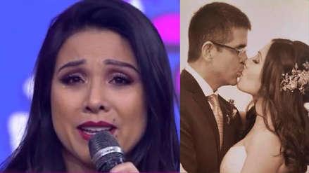 Tula Rodríguez lloró en su cumpleaños al recordar a su esposo