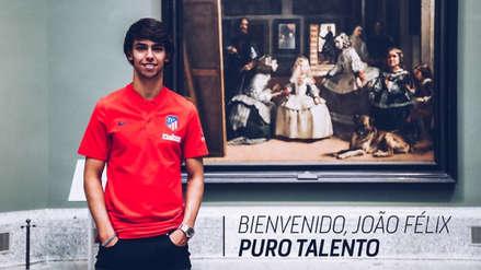 ¡Oficial! Atlético de Madrid fichó a Joao Félix por 126 millones de euros