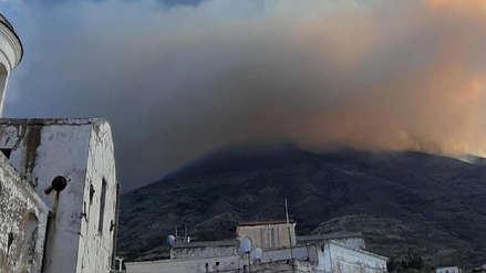Las fotos que grafican la violenta explosión del volcán Estrómboli en Italia