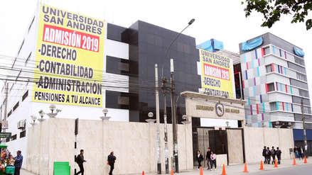 Sunedu deniega la licencia institucional a la Universidad San Andrés
