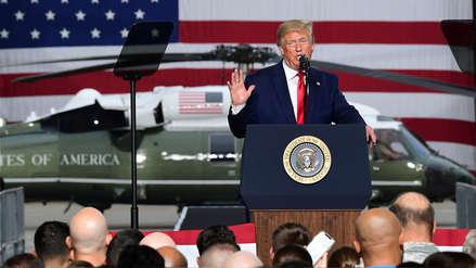 Trump asegura que EE.UU. plantará